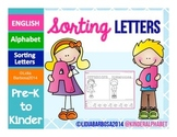 Sorting Letters- ENGLISH
