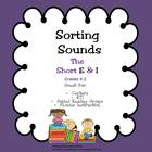 Sorting Sounds -The Short E and I: Illustrated Phonics Activity