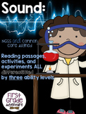 Sound {Common Core Activities, Experiments, and Worksheets