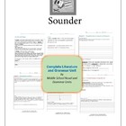 Sounder Complete Literature and Grammar Unit