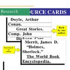 Source Card Example Handout