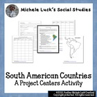 South American Countries Project Centers Activity