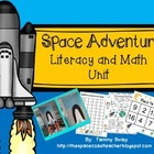 Space Adventures in Literacy and Math & Space Shuttle Craftivity