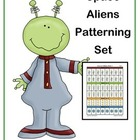 Space Aliens Patterning Set