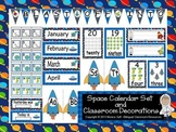 Space Calendar set and Classroom Decorations