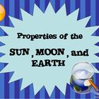 Space - Sun, Moon, Earth Presentation (PDF)