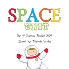 Space Unit Literacy & Math Centers