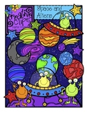 Space and Aliens {Creative Clips Digital Clipart}