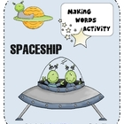 Spaceship Making Words