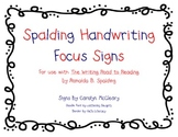 Spalding Handwriting Focus Signs
