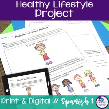 Spanish 1 Healthy Lifestyle Project