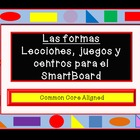 Spanish 2D Shapes Games, and Centers for the SmartBoard Al