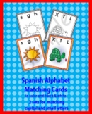Spanish Alphabet Letter Match