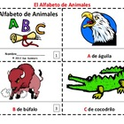 Spanish Alphabet of Animals / Alfabeto de Animales Booklets