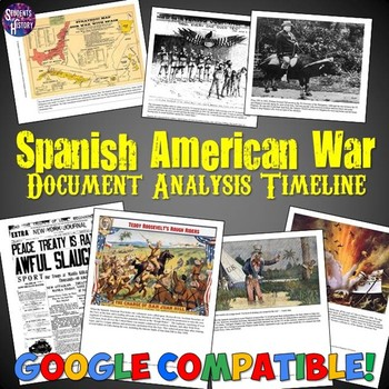 Spanish American War Document Analysis Timeline