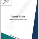"""""""Spanish Blade"""" Recorder Music with Fun Background Track"""