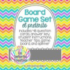 Spanish Board Game Set - preterite verbs