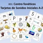 Spanish: Centro foneticos 001: Initial Sound Picture Sort A-Z