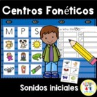 Spanish: Centro foneticos 001: Initial Sound Picture Sort