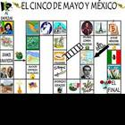 Spanish Cinco de Mayo Vocabulary and Games Unit - 15 pages