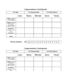Spanish Class Daily Speaking and Participation Rubric