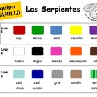 Spanish Color Charts for 5 Groups