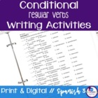 Spanish Conditional tense writing exercises - regular verbs