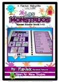 Spanish Counting Monsters MagnetMat Fun