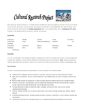 Spanish Country Research Project (could be used with any l
