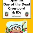 Spanish Day of the Dead / Dia de los Muertos Crossword & V