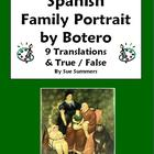 Spanish Family - Botero Family Portrait 9 True/False and T