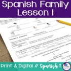 Spanish Family Lesson 1