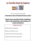 Spanish Family Webquest - Spain's Royal Family - La Familia Real