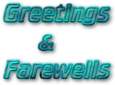 Spanish Greetings & Farewells