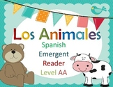 Spanish Guided Reading Pre-K Animals - Early/Emergent Reader