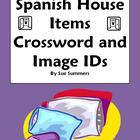 Spanish House Items Crossword and Image IDs