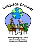 Spanish Language Connect- 5 Games to Play to Build Vocabulary