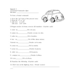 Spanish Level 3 Quiz on Formal commands