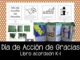 Spanish - Libro Timeline Dia de Accion de Gracias - Accord