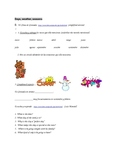 Spanish Listening Comprehension Acitivities.  Short and re