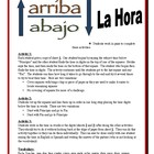 Spanish Partner Activities  for Telling Time (Speak, Read,