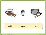 Spanish PowerPoint Activity: Drinks and Present-Tense Verbs