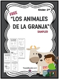 Spanish Reading Comprehension Farm Animals