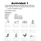 Spanish Reflexive Verbs Speaking Activity (2 complete activities)