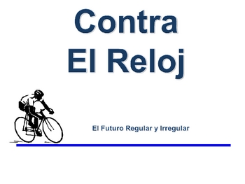 Spanish Regular and Irregular Simple Future Writing Activity