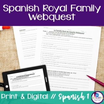 Spanish Royal Family Webquest