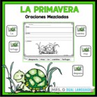 Spanish Scrambled Sentences:Spring