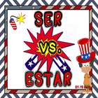 Spanish Ser vs. Estar Notes and Practice Powerpoint