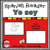 Spanish Sight Word Coloring Book - ¡Yo Soy Yo! {Spanish Reader}