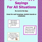 Spanish Snappy Sayings  (or Chants) For All Situations